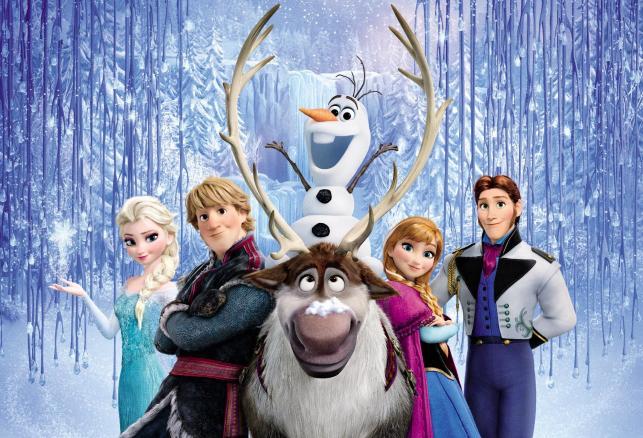 """Najlepszy film animowany: """"Kraina lodu"""""""