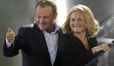 Donald Tusk i Małgorzata Tusk