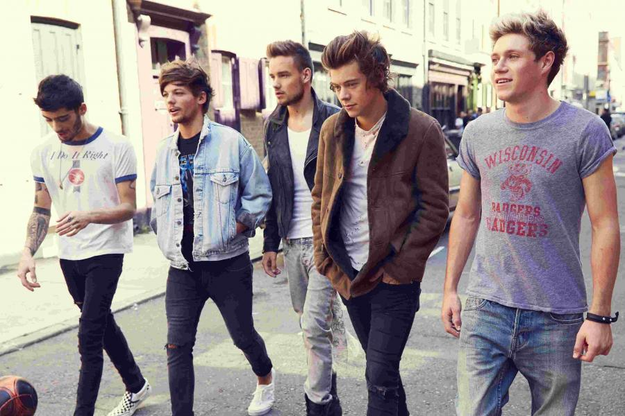 One Direction na brytyjskim szczycie
