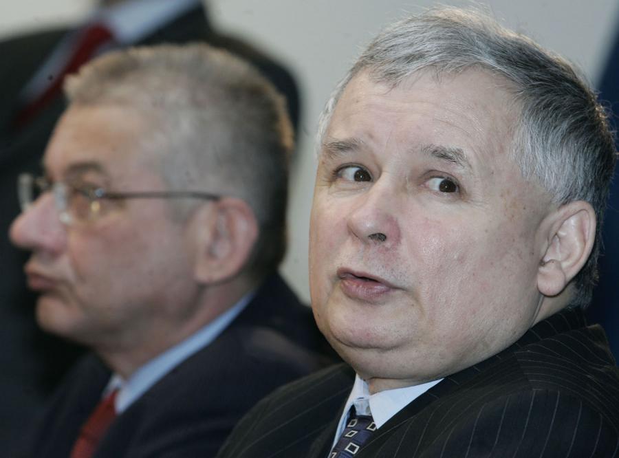 Kaczyński chwali decyzję Dorna o pozostaniu w PiS