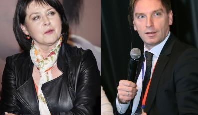 Tomasz Lis i Elżbieta Jaworowicz