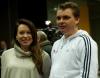 Marcin Matkowski z żoną