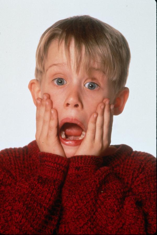 Macaulay Culkin jako Kevin (sam w domu)