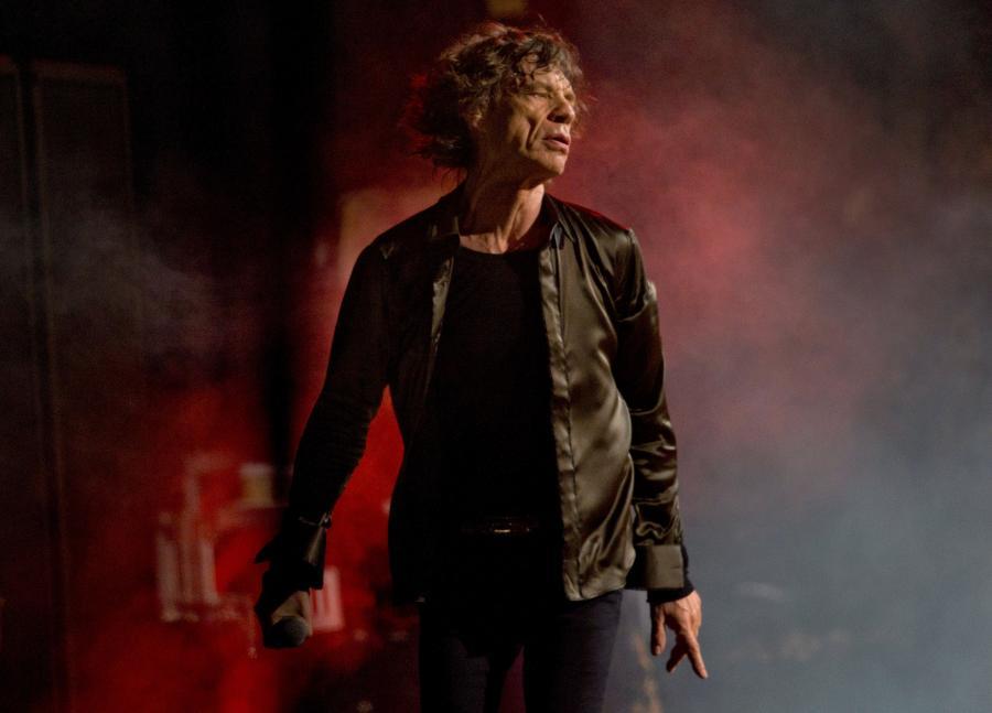 Mick Jagger i The Rolling Stones podczas występu na festiwalu Glastonbury 2013 –29 czerwca