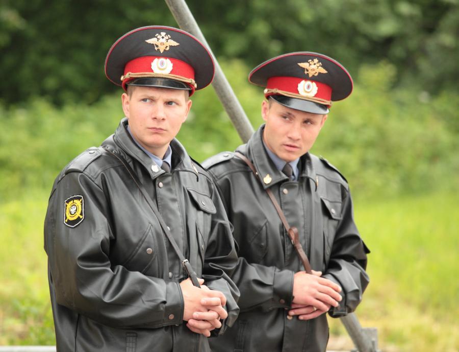 Rosyjscy policjanci
