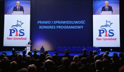 Wystąpienie prezesa PiS Jarosława Kaczyńskiego podczas Kongresu Programowego Prawa i Sprawiedliwości