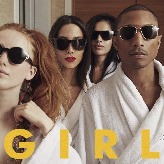 "10. Pharrell –""G I R L"""