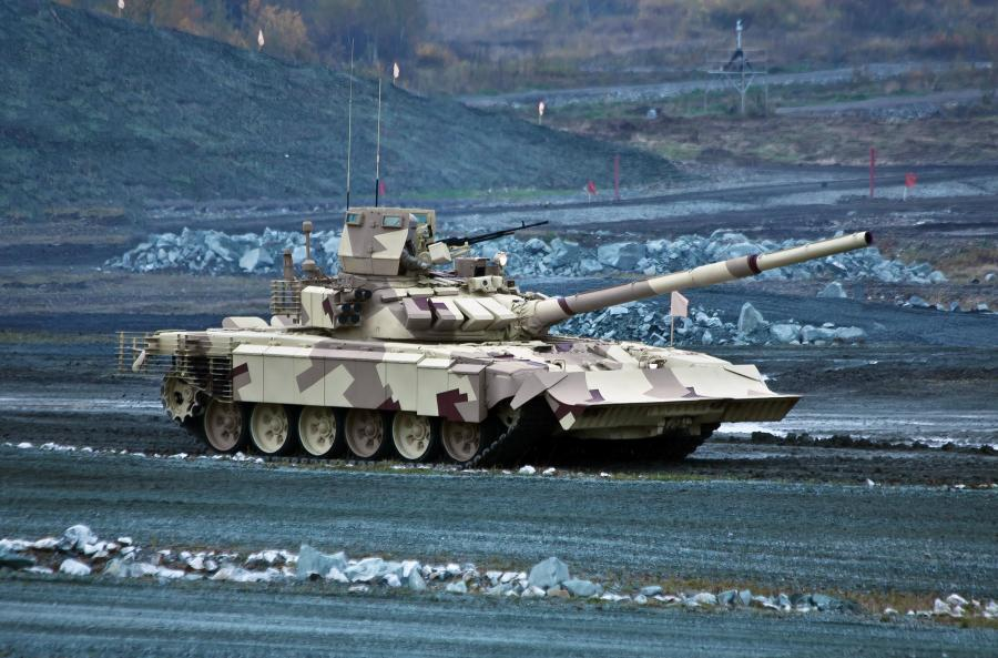 Rosyjski czołg T-90MC