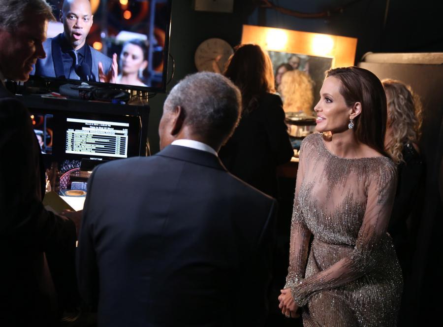 Angelina Jolie nie jest od wszystkiego