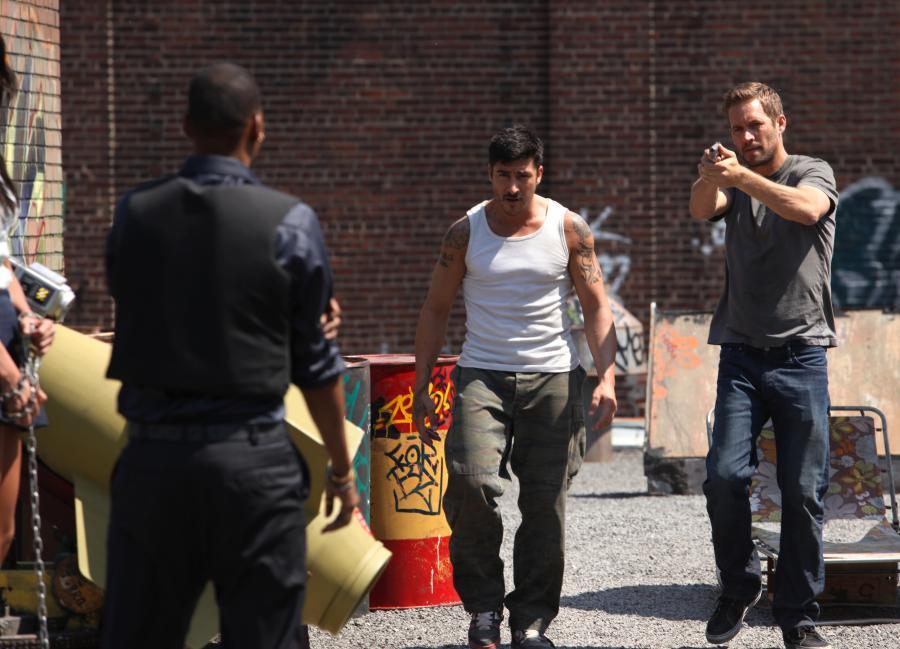"""David Belle i Paul Walker w filmie """"Brick Mansions. Najlepszy z najlepszych"""""""