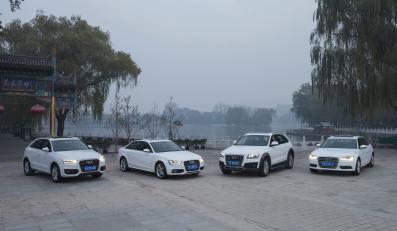 Gama Audi na rynek chiński