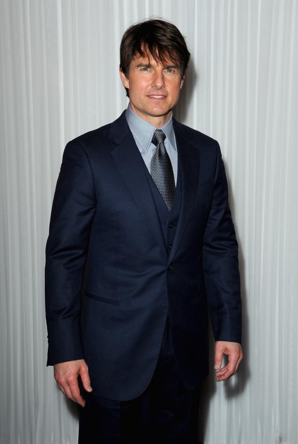 "Tom Cruise na gali magazynu ""Empire"" w Londnie"