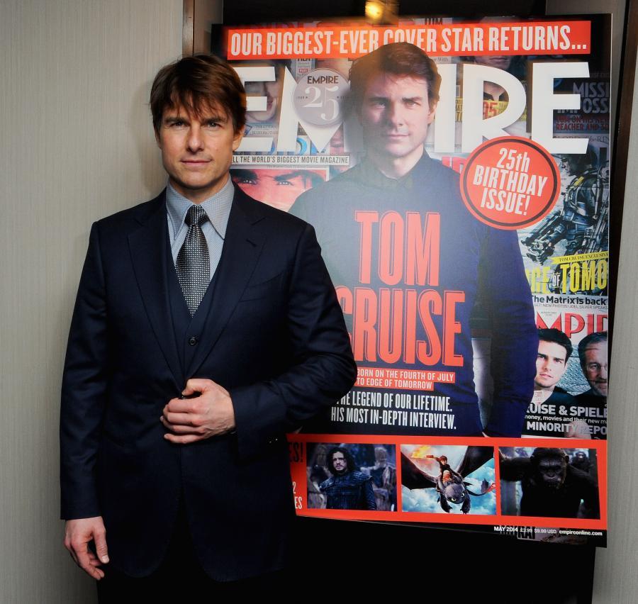 "Tom Cruise na dorocznej gali magazynu ""Empie"""