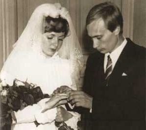 Władimir Putin i Ludmiła Putin