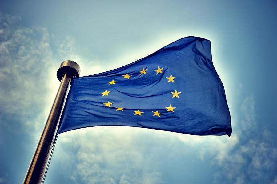 Flaga Unii Europejskiej UE