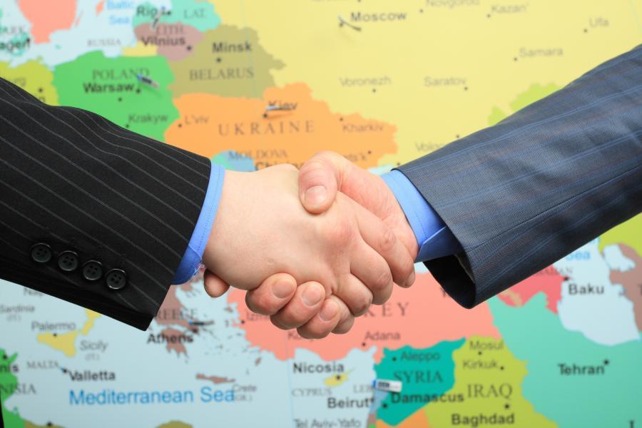 Porozumienie nad mapą
