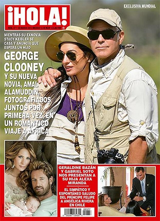 George Clooney i jego narzeczona Amal Alamuddin