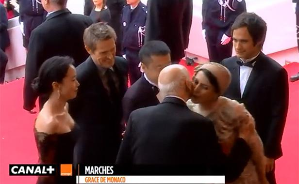 Leila Hatami pocałowała na powitanie wieloletniego szefa festiwalu w Cannes Gillesa Jacoba