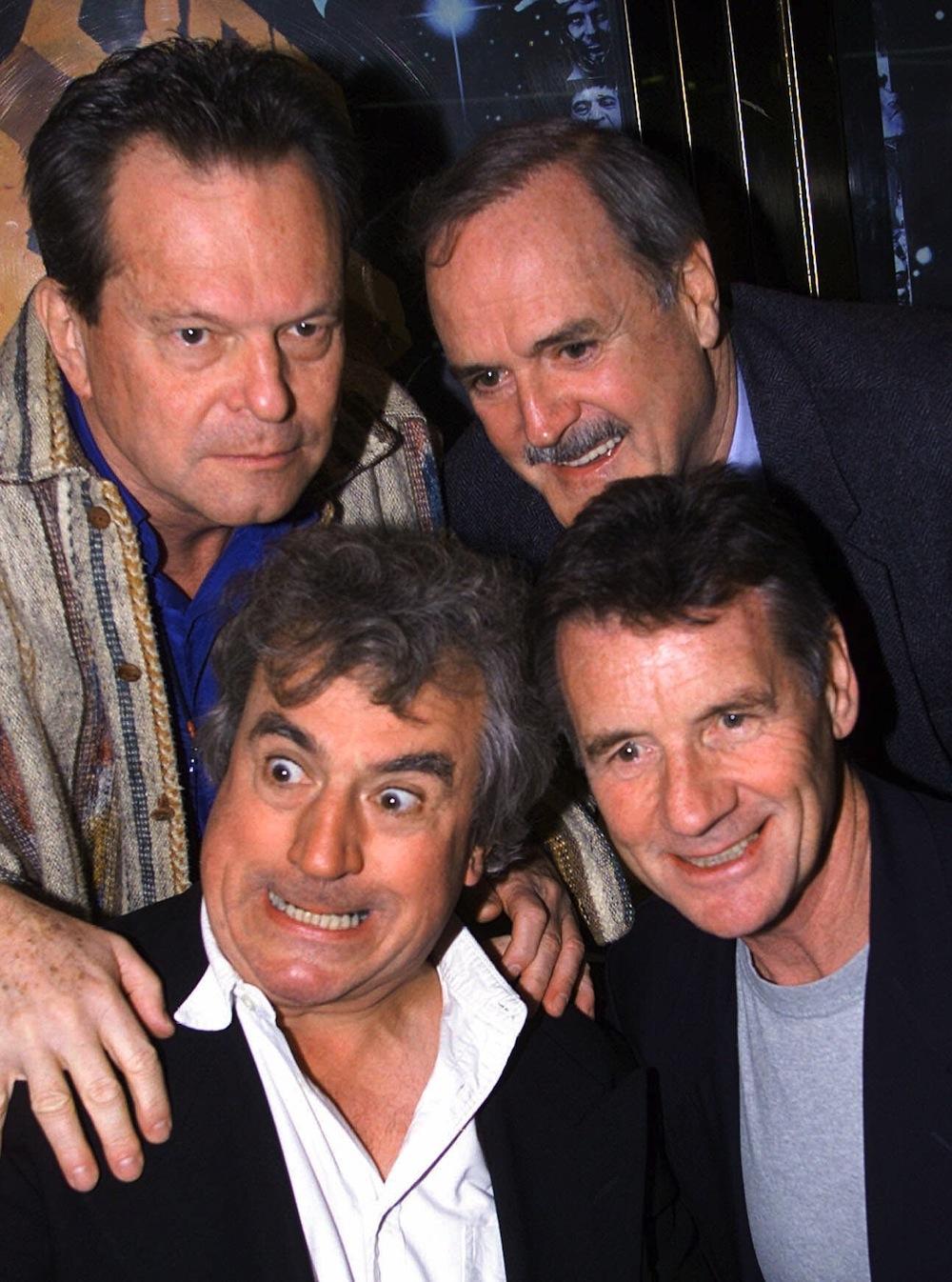 Terry Gilliam, John Cleese, Terry Jones i Michael Palin w 1999 roku