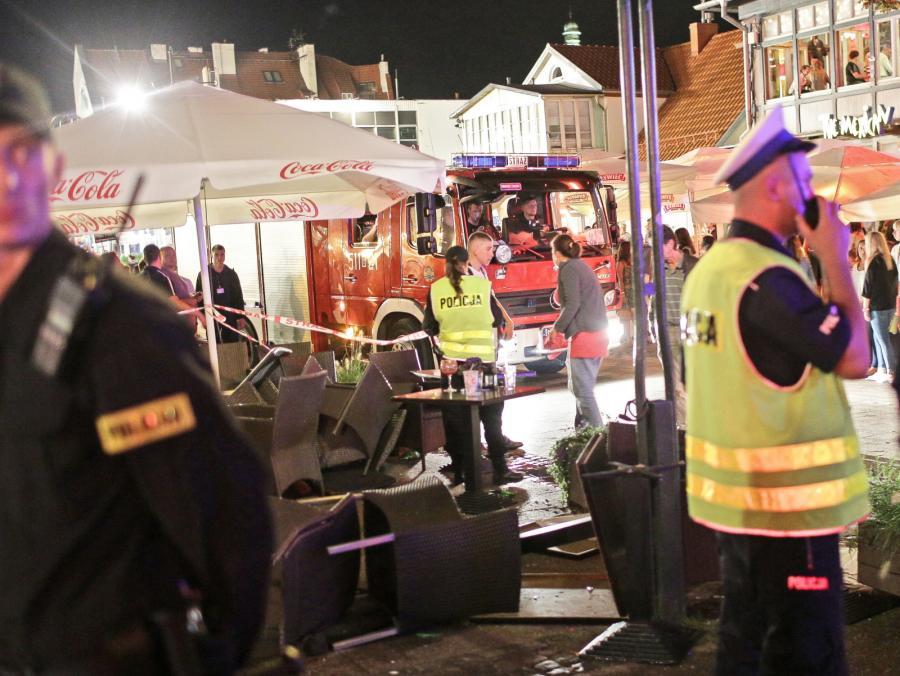Prokurator ogłosił zarzuty dla kierowcy, który w Sopocie potrącił 23 osoby