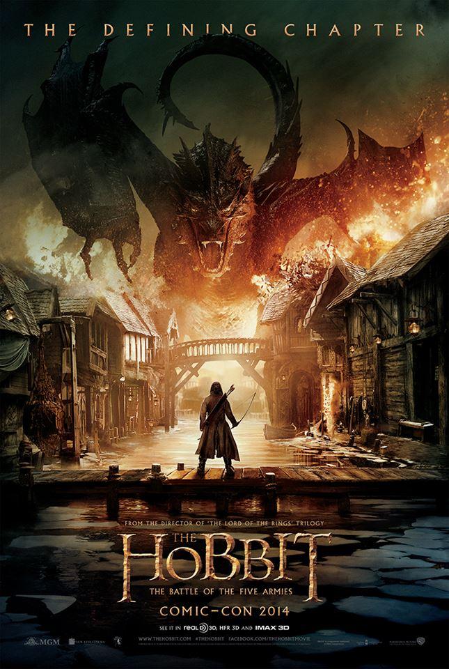 """""""Hobbit: Bitwa Pięciu Armii"""" na pierwszym plakacie"""