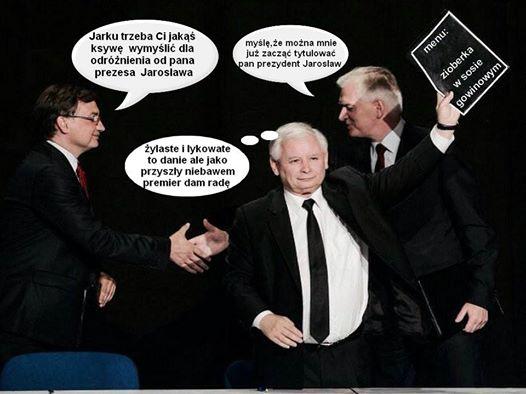mem z Jarosławem Kaczyńskim / Nie lubię PiS-u