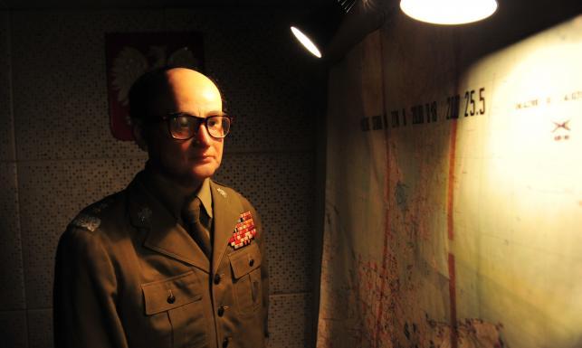 Silikonowy generał Jaruzelski atrakcją podziemnych bunkrów