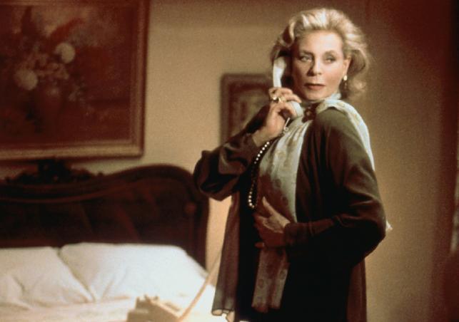 """Lauren Bacall w filmie """"Miłość ma dwie twarze"""""""