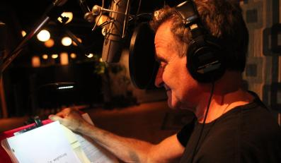 """Robin Williams podczas pracy nad """"Absolutely Anything"""""""