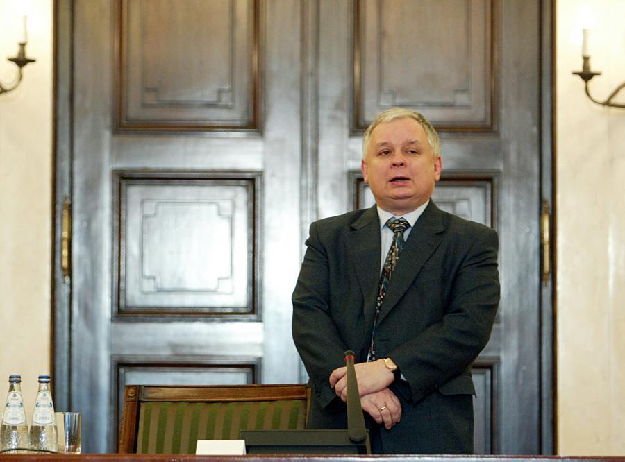Lech Kaczyński na razie nie chce wycofania polskiego wojska z Iraku