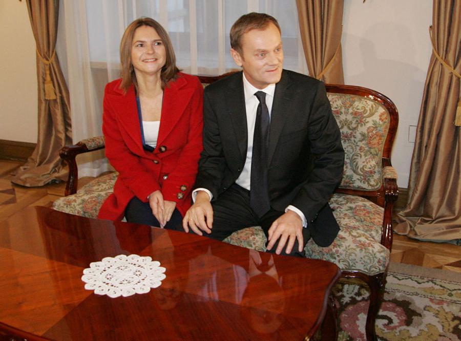 Małgorzata i Donald Tuskowie wciąż czekają na wyprowadzkę Jarosława Kaczyńskiego z rządowej willi