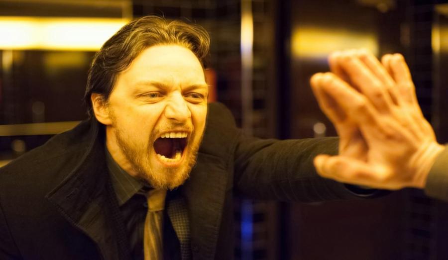 "James McAvoy w filmie ""Brud"""