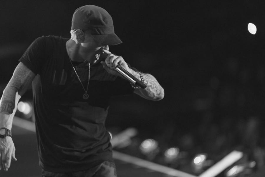 Eminem rekordzistą w rapowaniu