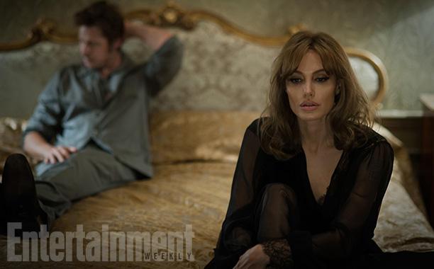 Angelina Jolie i Brad Pitt razem w sypialni i na ekranie [PIERWSZE ZDJĘCIA]