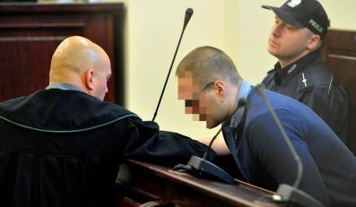 Sprawca wypadku Mateusz S. przed sądem