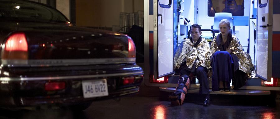 "Tamsin Egerton i Elijah Wood w filmie ""Wirtuoz"""
