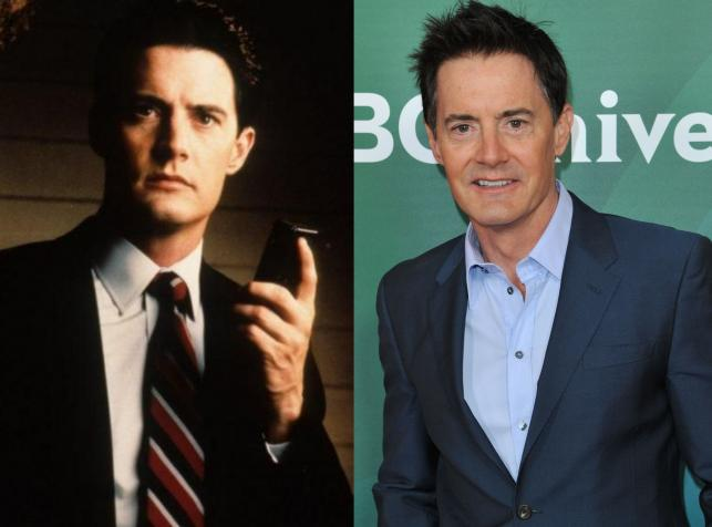 Kyle MacLachlan - agent Dale Cooper