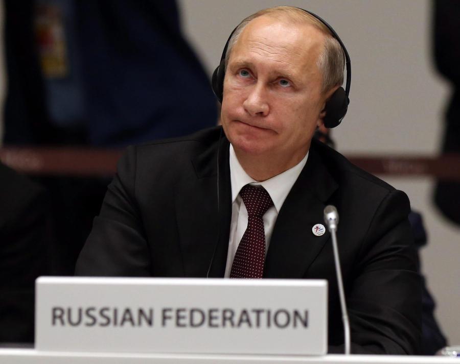 Władimir Putin w Mediolanie
