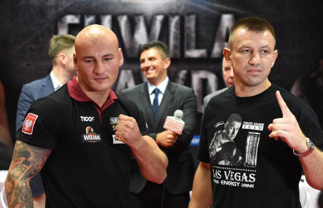 Adamek i Szpilka spotkali się na konferencji prasowej. Walka 8 listopada