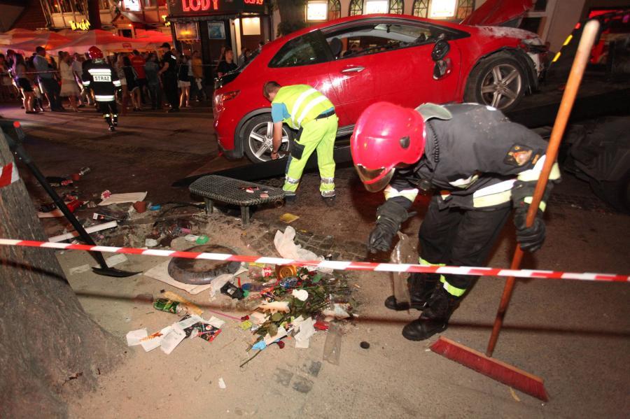 Kierowca, który taranował ludzi w Sopocie uniknie kary