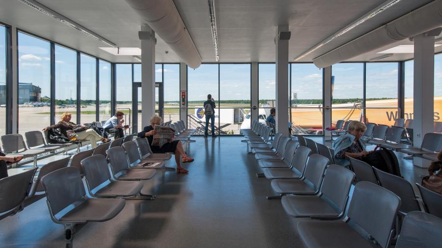 Lotnisko Berlin Tegel w Niemczech
