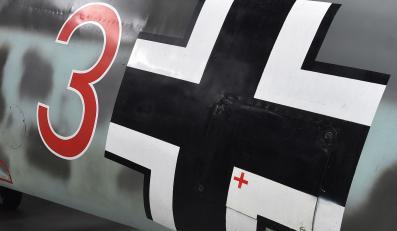 Messerschmitt Bf-109G-6 w Muzeum Lotnictwa Polskiego w Krakowie