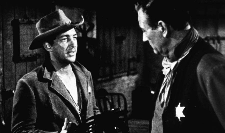 John Wayne i Dean Martin w filmie \