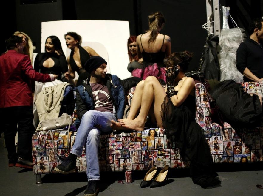Pokaz mody środowisk LGBT w Stambule