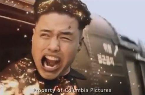 Aktor odtwarzający postać Kim Dzong Una w \