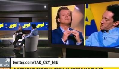 """Michał Wiśniewski i Jarek Jakimowicz w programie Agnieszki Gozdyry """"Tak czy Nie"""""""