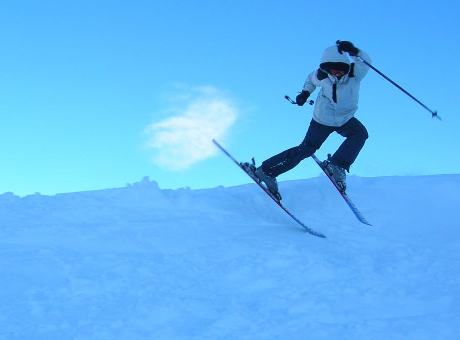 Slalomem u podnóża Śnieżki