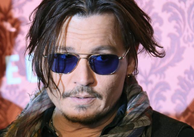 """Johnny Depp w Berlinie promował film """"Bezwstydny Mortdecai"""""""