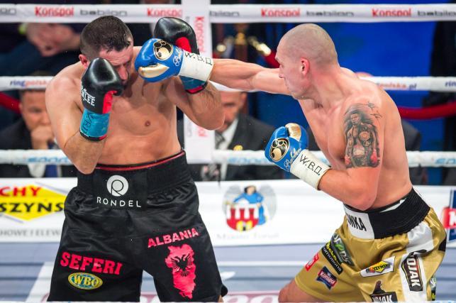 Głowacki pokonał Seferi'ego i zdobył pas WBO