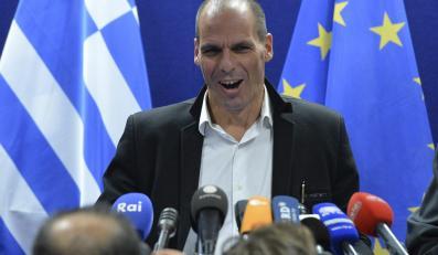 Janis Warufakis, grecki minister finansów